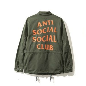 Anti Social Social Club Poppy Fields Jacket
